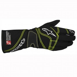 Alpinestars Tempest Glove - Black / Fluo Green