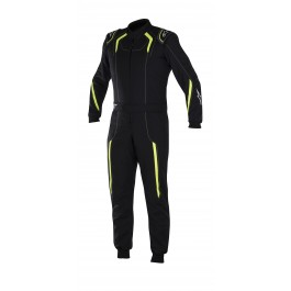 Alpinestars K-MX 5 S Youth Suit - black / yellow fluo