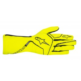Alpinestars Tech 1-K Race Gloves - yellow fluo