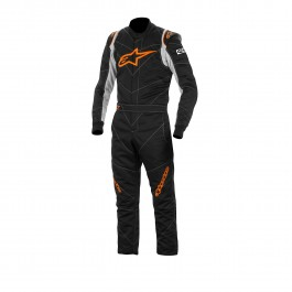 Alpinestars GP RACE SUIT Black Orange Fluo