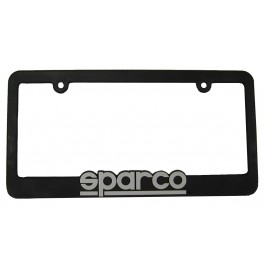 Sparco LICENSE PLATE FRAME PLASTIC