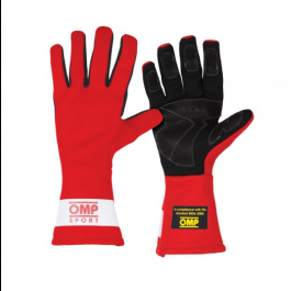 OMP Sport OS 60 Gloves- Red