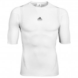 2014 Adidas Techfit Kart SS Top - White