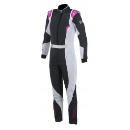 Alpinestars STELLA GP PRO WOMEN'S SUIT - Black / Steel Gray / Purple