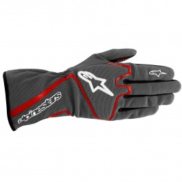 Alpinestars 2016 TECH 1-K RACE GLOVES - anthracite / red