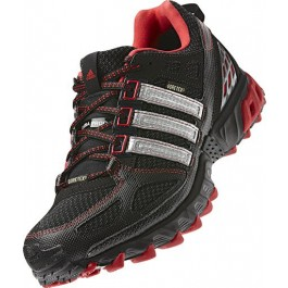 Adidas Kanadia Shoes - Black/Red