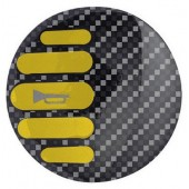 Sparco HORN EMBLEM ICON - Yellow