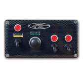 Longacre ABS CF Start Ign w/2 Acc w/Pilot Lights