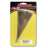 Longacre 8 Inch Stainless Header Wrap Ties (24)