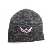 425 Motorsports Ladies Beanie - Black/Grey/Pink