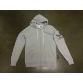 425 Motorsports Classic Men's Zip Up Hoodie - Heather Grey
