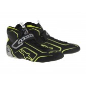 Alpinestars TECH 1-T SHOES - black / fluo yellow / silver