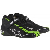 ALPINESTARS TECH 1-KX SHOES - black / green fluo