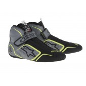 Alpinestars TECH 1-Z SHOES - anthracite / black / yellow fluo