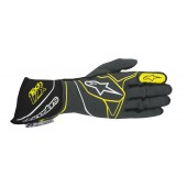 Alpinestars Tech 1-ZX Gloves - anthracite / black / yellow fluo