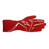 Alpinestars Youth Tech 1-K Race S Gloves - red
