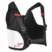 ALPINESTARS YOUTH BIONIC AIR RIB PROTECTOR, BLACK/WHITE, SIZE O/S