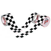 "ISC Racers Tape 2"" x 45' Checkerboard Tape"