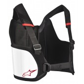 Alpinestars BIONIC RIB SUPPORT BLACK WHITE