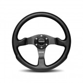 MOMO Competition Steering Wheels Black Airleather