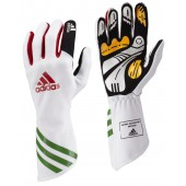 Adidas Kart XLT Gloves - White/Green