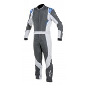 Alpinestars GP PRO SUIT - anthracite / steel gray / blue