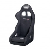 OMP TRS-E XS SEAT: Tubolar | Black - Special Order with container