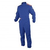 OMP SPORT OS 20 BOOT CUT SUIT - SFI 5 Blue