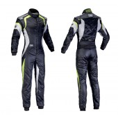OMP 40th ANNIVERSARY SUIT black / lime