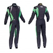 OMP KS-1 SUIT Black / Green Fluo