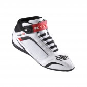 OMP KS-2 SHOES White / Black / Red