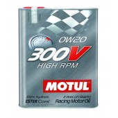 Motul 300V 0W20 HIGH RPM - 2L (2.1 qt.)