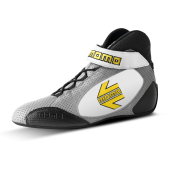 MOMO GT PRO RACING BOOTS - CALF AIR LEATHER / GREY