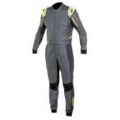 Alpinestars GP TECH SUIT - anthracite / black / yellow fluo