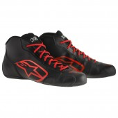 Alpinestars TECH 1-K START SHOES - black / red