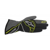 Alpinestars 2016 TECH 1-Z GLOVES - black / anthracite / yellow fluo