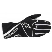 Alpinestars Tech 1-K Race S Youth Kart Gloves - Black / White