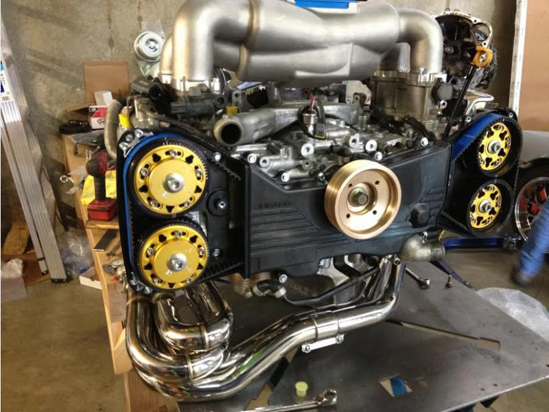 Struted Subaru Cosworth Engines Engine Problems And