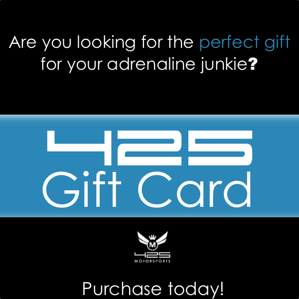 Purchase 425 Motorsports Gift Cards