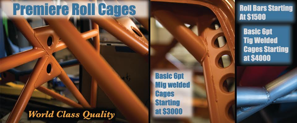 Premier Roll Cages & Roll Bars