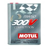 Motul 300V 15W50 COMPETITION - 2L (2.1 qt.)