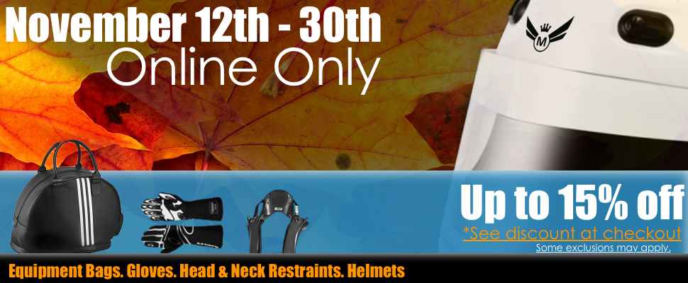 Sale November 12th - 30th Online Only!